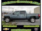 2012 Blue Granite Metallic Chevrolet Silverado 1500 LT Crew Cab 4x4 #56935558