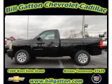 2012 Black Chevrolet Silverado 1500 Work Truck Regular Cab #56935556