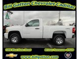 2011 Summit White Chevrolet Silverado 1500 LS Regular Cab 4x4 #56935554