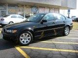 2005 Jet Black BMW 3 Series 325i Sedan #5688779