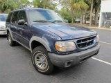 2000 Medium Wedgewood Blue Metallic Ford Explorer XLS 4x4 #56935081