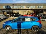 2012 Blue Candy Metallic Ford Focus SE 5-Door #56935305