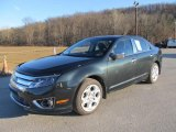 2010 Atlantis Green Metallic Ford Fusion SE #56935224