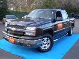 2004 Black Chevrolet Silverado 1500 Z71 Crew Cab 4x4 #56935209