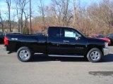 2012 Black Chevrolet Silverado 1500 LT Extended Cab 4x4 #56935190