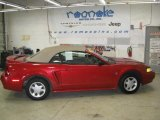 1999 Laser Red Metallic Ford Mustang V6 Convertible #56935177