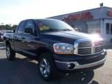 2006 Patriot Blue Pearl Dodge Ram 1500 Big Horn Edition Quad Cab 4x4 #5684721
