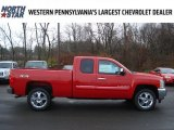 2012 Victory Red Chevrolet Silverado 1500 LT Extended Cab 4x4 #57001206