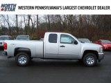 2012 Silver Ice Metallic Chevrolet Silverado 1500 LS Extended Cab 4x4 #57001204