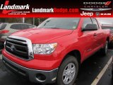 2010 Radiant Red Toyota Tundra Double Cab #57001177