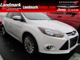 2012 Oxford White Ford Focus Titanium 5-Door #57001170