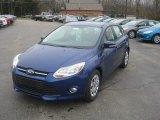2012 Sonic Blue Metallic Ford Focus SE 5-Door #57001348