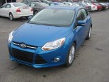 2012 Blue Candy Metallic Ford Focus SEL 5-Door #57001347