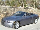 2007 Space Gray Metallic BMW 3 Series 335i Convertible #57001136