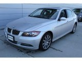 2008 Titanium Silver Metallic BMW 3 Series 335xi Sedan #57001107