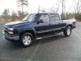 2006 Dark Blue Metallic Chevrolet Silverado 1500 LT Crew Cab 4x4 #57001466
