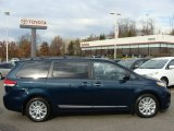 2011 South Pacific Blue Pearl Toyota Sienna XLE AWD #57001276