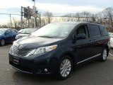 2011 Toyota Sienna South Pacific Blue Pearl