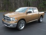 2012 Saddle Brown Pearl Dodge Ram 1500 Big Horn Crew Cab 4x4 #57001455