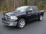 2012 True Blue Pearl Dodge Ram 1500 Big Horn Crew Cab #57001454