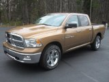 2012 Saddle Brown Pearl Dodge Ram 1500 Big Horn Crew Cab 4x4 #57001450