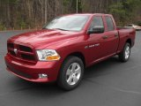 2012 Deep Cherry Red Crystal Pearl Dodge Ram 1500 Express Quad Cab 4x4 #57001447