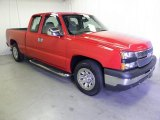 2007 Victory Red Chevrolet Silverado 1500 Classic LT Extended Cab #57034385