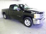 2012 Black Chevrolet Silverado 1500 LT Extended Cab 4x4 #57034383