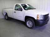2012 Summit White Chevrolet Silverado 1500 Work Truck Regular Cab #57034381