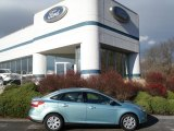 2012 Frosted Glass Metallic Ford Focus SE Sedan #57034058