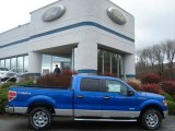 2012 Blue Flame Metallic Ford F150 XLT SuperCrew 4x4 #57034053