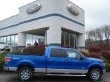 2012 Blue Flame Metallic Ford F150 XLT SuperCrew 4x4 #57034053