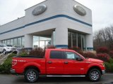2011 Race Red Ford F150 XLT SuperCrew 4x4 #57034051