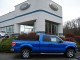 2011 Blue Flame Metallic Ford F150 XLT SuperCab 4x4 #57034050