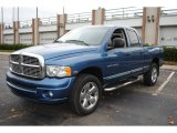 2005 Atlantic Blue Pearl Dodge Ram 1500 SLT Quad Cab 4x4 #57034371