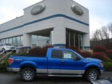 2011 Blue Flame Metallic Ford F150 XLT SuperCab 4x4 #57034047