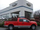 2011 Race Red Ford F150 XLT SuperCab 4x4 #57034046