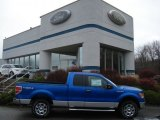 2011 Blue Flame Metallic Ford F150 XLT SuperCab 4x4 #57034045
