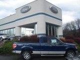 2011 Dark Blue Pearl Metallic Ford F150 XLT SuperCab 4x4 #57034044