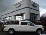 2011 White Platinum Metallic Tri-Coat Ford F150 Platinum SuperCrew 4x4 #57034043