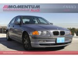2000 Steel Blue Metallic BMW 3 Series 323i Sedan #57034663