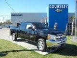 2012 Black Chevrolet Silverado 1500 LT Crew Cab #57034639
