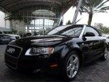 2008 Brilliant Black Audi A4 2.0T Cabriolet #57033973