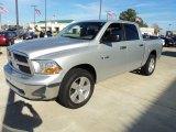 2009 Bright Silver Metallic Dodge Ram 1500 SLT Crew Cab #57034316