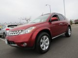 2007 Sunset Red Pearl Metallic Nissan Murano SL AWD #57034588