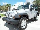 2011 Bright Silver Metallic Jeep Wrangler Sport S 4x4 #57033950