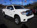 2008 Super White Toyota Tundra Limited CrewMax 4x4 #57034495