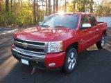 2011 Victory Red Chevrolet Silverado 1500 LT Crew Cab #57034486