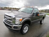 2012 Ford F250 Super Duty XLT Regular Cab 4x4 Front 3/4 View