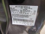 2012 F250 Super Duty Color Code for Sterling Grey Metallic - Color Code: UJ